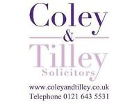 Legal Secretary Required - Part Time
