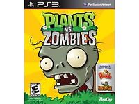 Plant vs zombies PS3