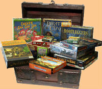 Looking to buy used and new board games