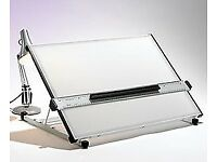 A1 Drawing Board / Light board (translucent acrylic working surface)