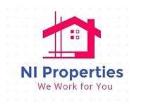 Properties wanted in Belfast and Greater Belfast area !!!!