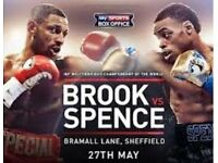 Kell Brook v Errol Spence - Under face value!