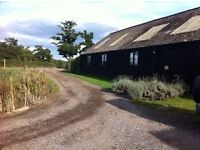 Desk space available in beautiful rural location near Dorking.