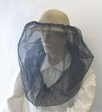 Beekkeeping Veil Protective Clothing - Black Net With Draw String Cardiff Lake Macquarie Area Preview