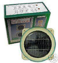 Powerful extractor fan ebay - Solar powered extractor fan bathroom ...