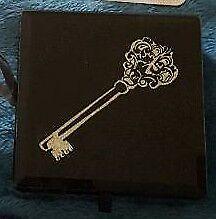 Small black glass jewellery box