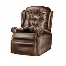 Leather Recliner/Lift Chair Brown