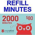 Page Plus Minutes