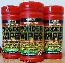 For Sale. EverBuild Wonder Wipes. £5.00 per tub of 100 wipes.