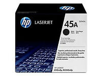 HP 45A Black Laserjet Toner Cartridge Q5945A - Original in sealed box - RRP£250+