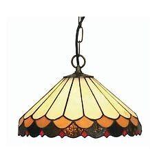 Oaks Tiffany Lysander Ceiling Light 12 inches