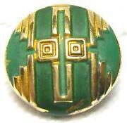 Antique Enamel Buttons