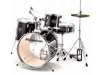 Millenium 5 piece drum kit