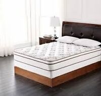 Brand new WholeHome, Dillon double mattress and boxspring