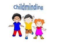 professional childminder is available