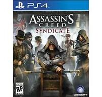 Assassin's Creed Syndicate contre NHL 16 PS4