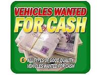 We want used/ scrap/ non runners