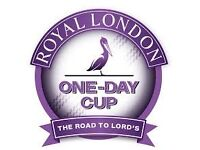 Royal London One day cup final x4 Lord's 17th Sept