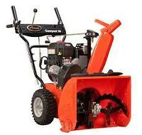 Cash for your unwanted snowblowers