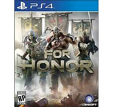 For Honor ps4 mint condition!!