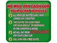 ♻️🚗SCRAP My Car Cars Vans 4x4 spares or repairs no Mot ♻️