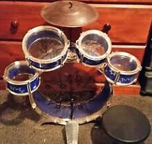 Big Band Let's Rock in Roll 5PCs Toy Drum Play Set Doonside Blacktown Area Preview