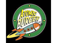 Bristol's Famous Atomic Burger's Needs Grill Chefs Wanted to Start Immediately WOW!