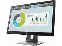 1 Year Warranty HP Elite Display 20 Inch Widescreen LCD Monitor VGA Display Port USB 2.0 HDMI