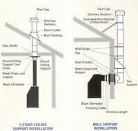 Chimney Systems Supply and Instal.  WETT Certified