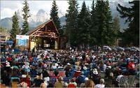 4 Adult Tickets to Canmore Folkfest