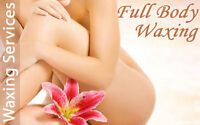 Waxing Services for Women by Certified Esthetician
