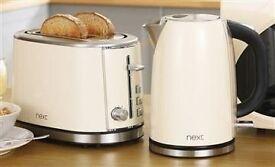 Kettle & Toaster Set - Next Cream