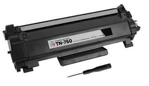 Brother TN760 Black Toner Cartridge for CHEAPEST PRICE!