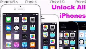 Unlock all iPhone models**** déblocage tout les modèles d'iPhone