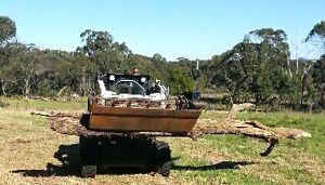 Earthmoving , rural fencing and land clearing services . Laguna Cessnock Area Preview