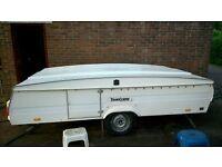 Paradiso Royale unusual trailer tent / folding pop-up caravan