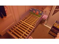 Peppa character Bed and Storage Unit