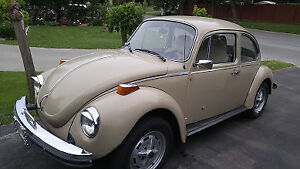 Rare Low Km Excellent Condition 1974 Beetle