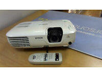 Epson LCD Projector With Lamp+Remote & All Cables Needed.