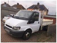 Ford transit 2.4 mk6 2004 twin wheel drop side truck BREAKING FOR PARTS MANY PARTS AVAILABLE SPARES
