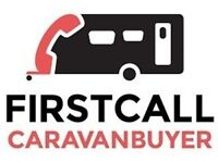 CARAVANS CAMPERS MOTORHOMES WANTED - CASH WAITING - BEST PRICES PAID - WE CAN COLLECT!
