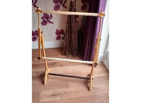 Quality floor standing tapestry/embroidery frame, adjustable