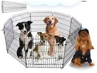 FOLDABLE PET CAGE for PUPPY, DOG, KITTEN, CAT, RABBIT ETC