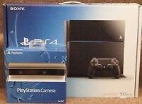 """Ps4 plus 42"""" TV and surround sound system"""