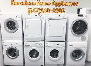 FRONT LOAD WASHER & DRYER ALL SIZES GREAT PRICES SPRING SPECIAL SALE ENDS MAY 28