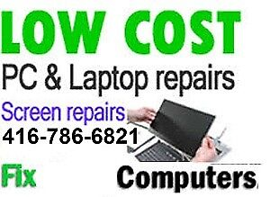 ALL LAPTOPS REPAIR AND SERVICES- SAME DAY-RICHMOND HILL-MARKHAM