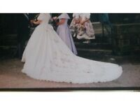 Wedding Dress, Veil & Tiara