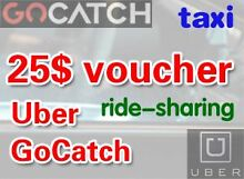 voucher/credit for ride-share/taxi service, 10$ Uber 15$ Gocatch Bondi Beach Eastern Suburbs Preview