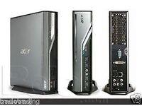 Ultra Fast Desktop Dual Core 2.0GHz 3GB 120GB SSD Windows 7 Small Computer PC-3