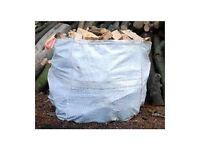 Ton bag firewood blocks logs £30